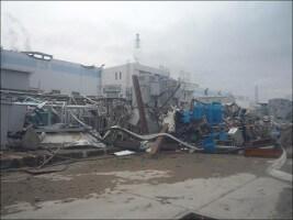 福島第一原発には14m近い津波が押し寄せた(出典:東京電力ホールディングス)