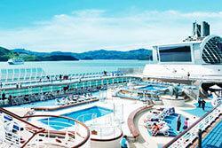 富裕層を中心に好評を博している、豪華客船を利用した国内ツアー