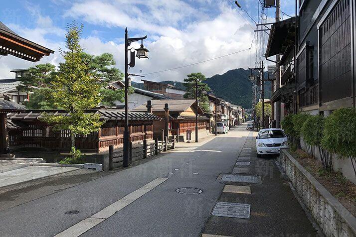 飛騨古川市街