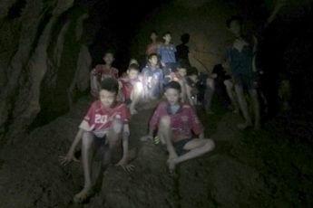 タイ洞窟・少年たち