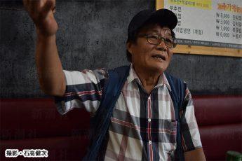 金ヨンファ氏は平壌生まれ。結婚して咸鏡南道の道都・咸興(ハムン)で暮らした(撮影・石高健次)