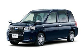 トヨタ新型「ジャパンタクシー」