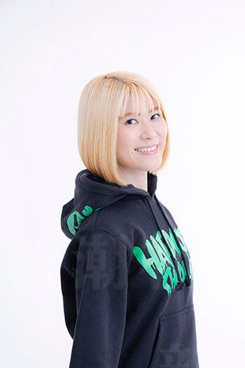 姫野桂さん金髪バージョン