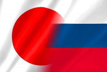 日露国旗イメージ