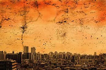 地球滅亡イメージ