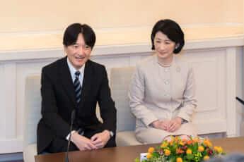 秋篠宮ご夫妻(写真・宮内庁提供)