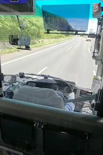 富士急行のバス運転手居眠り運転