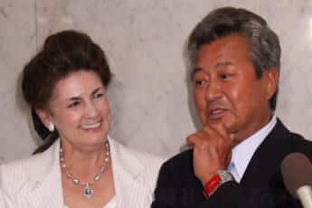 梅宮辰夫さんとクラウディア夫人