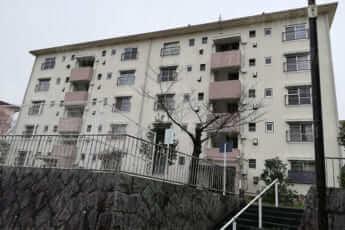 大阪・和泉市内にある公団住宅