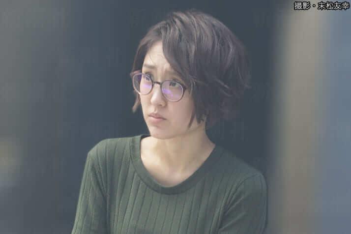 近江友里恵(撮影・末松友幸)