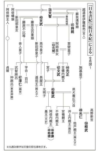 第6回毒親の日本史〈系図1〉