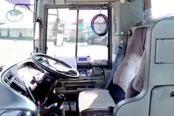 バス運転席イメージ