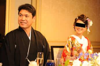 松本洋平代議士の結婚披露宴