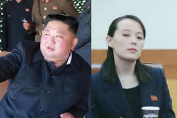 金正恩(朝鮮労働党HPより)、金与正