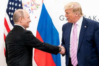 トランプ米大統領とプーチン露大統領