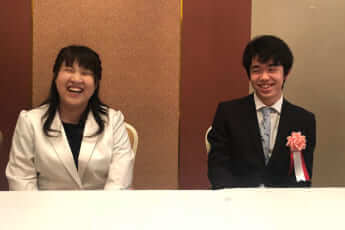 藤井聡太、中澤沙耶(写真・本人提供)