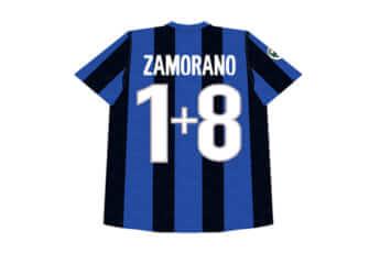 サモラーノ選手の「背番号1+8」