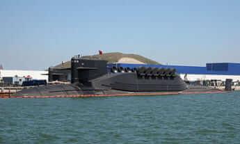 094型原子力潜水艦(Public domain/Wikimedia Commons)