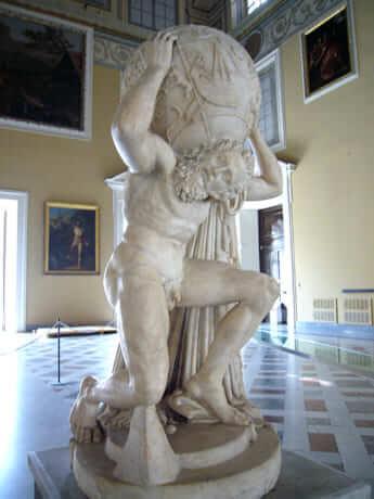 ギリシア神話に登場する神「アトラス」