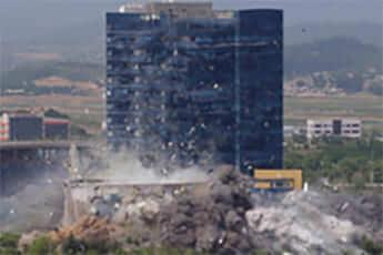 北朝鮮に爆破された「連絡事務所庁舎」
