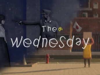 「水曜デモ」をもじったゲームのタイトル