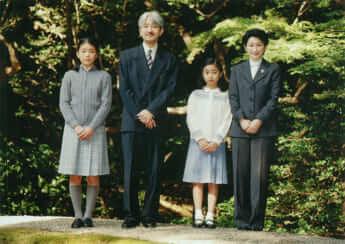 秋篠宮さまご夫妻、眞子さま、佳子さま
