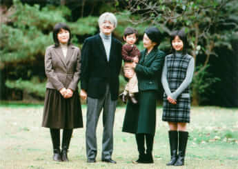 秋篠宮ご夫妻、眞子さま、佳子さま、悠仁さま
