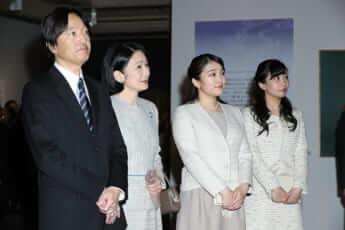 秋篠宮ご夫妻、眞子さま、佳子さま