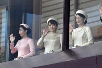 紀子さま、眞子さま、佳子さま