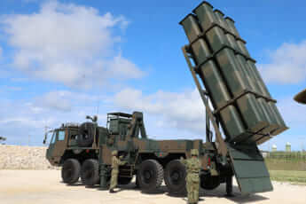 宮古島に配備された自衛隊の対艦ミサイル