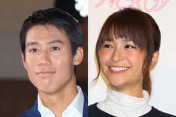 錦織圭選手、元モデルの「観月あこ」こと山内舞さん