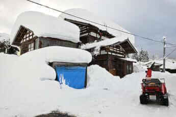 記録的な大雪となった(※画像はイメージ)