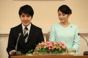 眞子さま、小室圭さん婚約会見