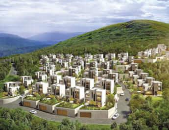 ソウルでの暮らしを諦め、郊外の新興タウンが流行