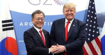 影響力低下が進む韓国外交