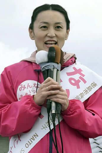 内藤佐和子・徳島市長